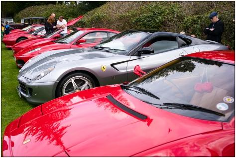 Ferrari-row